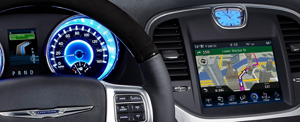 in-dash navigation